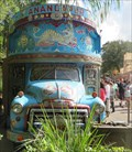 Image for Anandapur - Hand Painted Truck - Disney's Animal Kingdom, Orlando, Florida, USA.