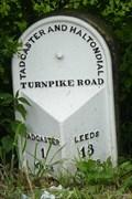 Image for Milestone - Roman Road, Tadcaster, Yorkshire, UK.