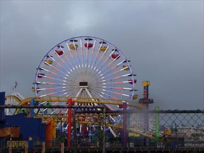 veritas vita visited Santa Monica Pier