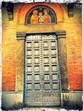 Image for Portal of the Chiesa di San Giorgio dei Tedeschi - Pisa, Italy