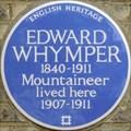 Image for Edward Whymper - Waldegrave Road, Teddington, London, UK