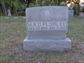 Image for H. R. C. Plumlee - Bullock Cemetery - Coppell, TX