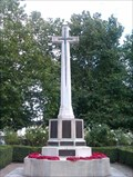 Image for Memorial Cross, St Gregory's Church - Sudbury, Suffolk