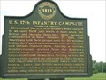 Image for US 17th Infantry - Historic Marker - Monroe, Michigan, USA