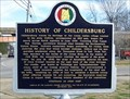 Image for History of Childersburg - Childersburg, AL