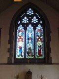 Image for Stained Glass, St John the Baptist, Crawley, West Sussex, England