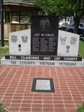 Image for Tri County Vietnam Veterans Memorial, Middlesboro, Kentucky