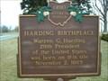 Image for Harding Birthplace