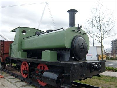 Forrester Locomotive - Lucky 7