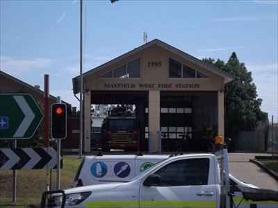The Fire Station on Industrial Drive,