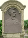 Image for Abraham Lincoln - Eighth Judicial District Logan / Tazewell County Line Marker  - Delavan, IL