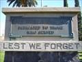 Image for World War I Memorial - Tucson, AZ