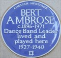 Image for Bert Ambrose - Stratton Street, London, UK
