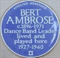Image for Bert Ambrose - Stratton Street, London, UK