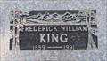 Image for 102 - Fredrick William King - Kaleden, British Columbia