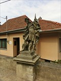Image for The statues of St. Florian and of St. Wendelin - Racice-Pistovice, Czech Republic
