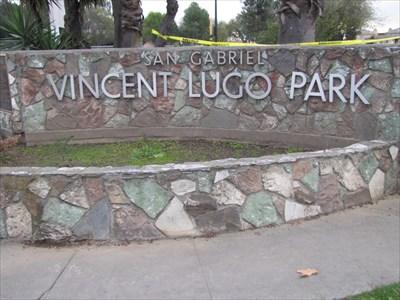 Vincent Lugo Park Entrance, San Gabriel, CA