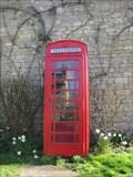 Image for Red Telephone Box - Main Street, Bradden, Northamptonshire, UK
