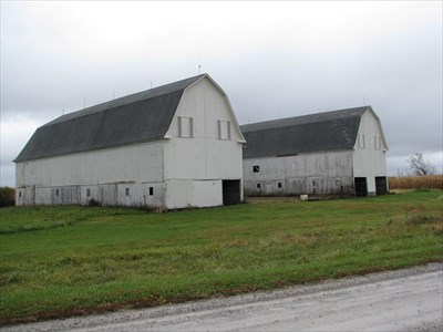 Trimble Parker Historic Farmstead U Shaped Barn