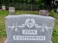 Image for Zern/Kasperowski Monument - Springfield Street Cemetery - Feeding Hills, MA, USA