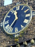 Image for St Thomas Church Clock - Neath, Wales, Great Britain.