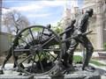 Image for Handcart Pioneers, (sculpture) - Salt Lake City, Utah