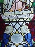 Image for Revelation 2:10 - Frederick Riley Memorial Window - Parish Church of All Saints Odd Rode, Scholar Green, Cheshire East, UK.