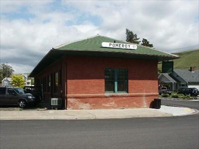 POMEROY, WA Train Depot - Train Stations/Depots on