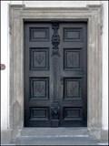 Image for Dvere kostela sv. Benedikta / Door of the Church of St. Benedict, Praha, CZ