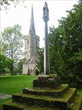 Image for Cross, Holy Trinity, Belbroughton, Worcestershire, England