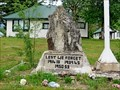 Image for Blue River Legion Branch 213 Cenotaph - Blue River, BC