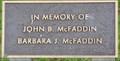 Image for John B. McFaddin & Barbara F. McFaddin