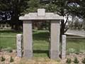 Image for Memorial Gate - Harcourt, Victoria, Australia