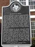 Image for Marshall Hall