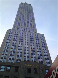 Lord Abercrombie visited Empire State Building