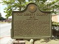 Image for Old Liberty County Jail Historical Marker