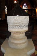 Image for 12th Century Font, St. Mary the Virgin, Dodford, Northants.