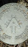 Image for AT - PA 364 47 - Appalachian Trail Survey Marker - Carlisle, PA