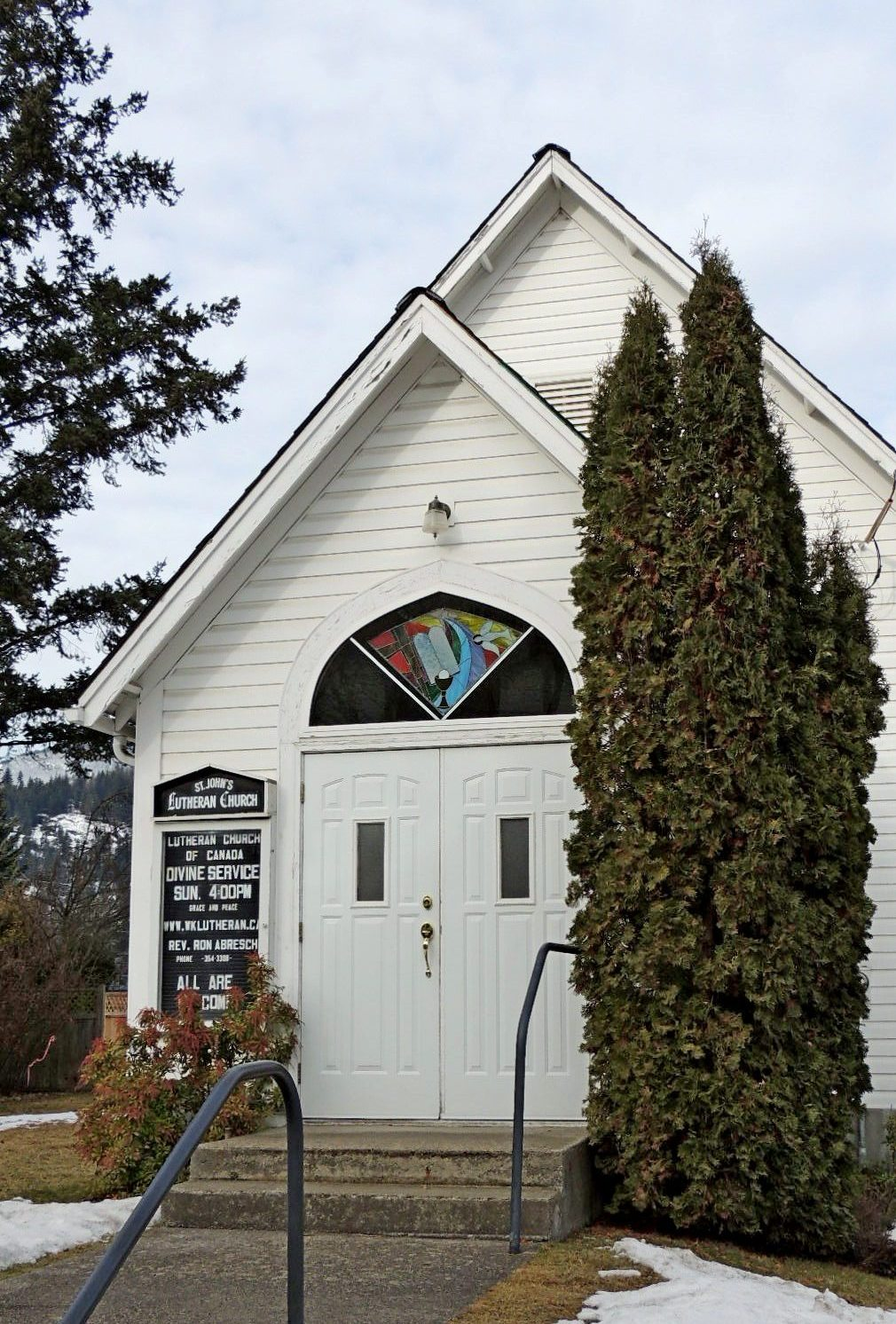 St. John's Lutheran Church Nelson, BC Photo