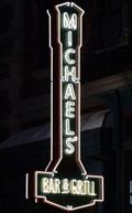 Image for Michael's Bar & Grill - Neon - Orlando, Florida, USA.