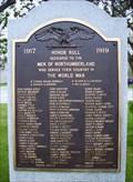 Image for World War I Memorial  -  Groveton, NH
