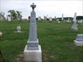 Image for H.W. & Catherine Branch - Indian Creek Hill Cemetery - rural Montgomery County, IN