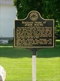 Image for Brooklyn recognizes boyhood home of 'The Duke,' John Wayne