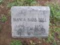 Image for Bianca Babb Bell - I.O.O.F. Cemetery - Denton, TX