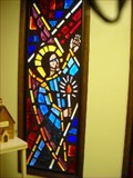Image for Stain Glass At Zion Lutheran Church, Garrett, Indiana