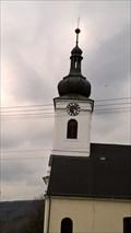 Image for Clocks at Church of Saint Jan Nepomucký - Pražmo, Czech Republic