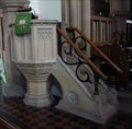 Image for Pulpit - St Swithin's Church, High Street, Sandy, Beds.