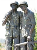 Image for Vietnam War Memorial, Avenue of the Flags, Marin County, San Rafael, CA, USA