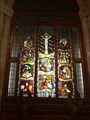 Image for Bell Tower Stained Glass Window - St Michael's Church - Marbury, Cheshire East.
