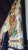 Image for Charles I coat of arms - St Newlyna - St Newlyn East, Cornwall.